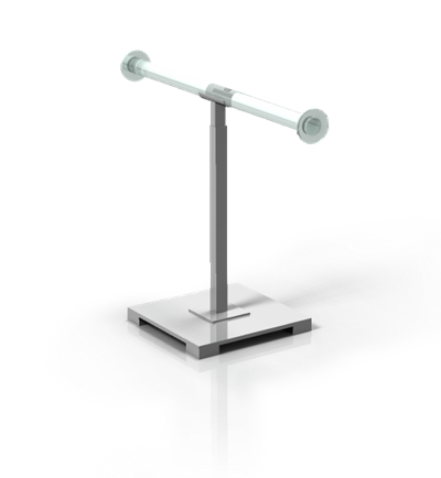 Single Adjustable Necklace Stand